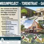 Nieuwbouwproject Torenstraat Gassel, patiowoningen, levensloopbestendig, seniorenwoning, starterswoning, twee onder één kap woning